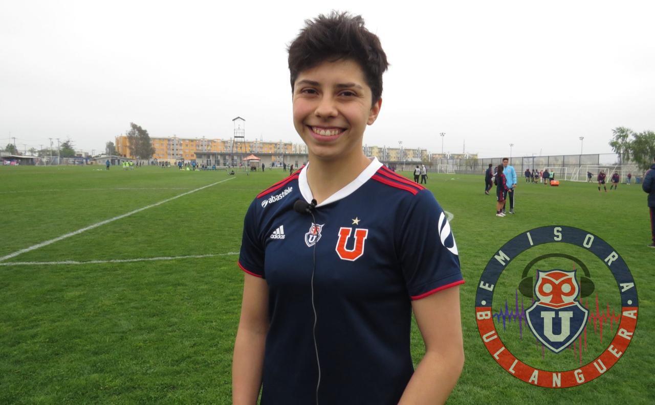 """Macarena Adasme: """"Elegí a Universidad de Chile por que la amo"""""""