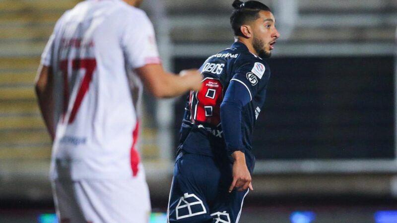 """Franco Lobos tras convertir su primer gol con la U: """"Es un momento súper lindo"""""""